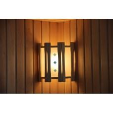 Абажур DoorWood прямой с тремя стеклами с вставками (АП-3СВ)