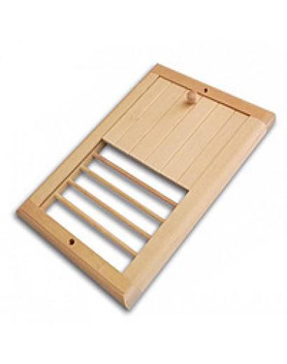 Вентиляционная решетка с отверстиями