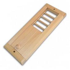 Вентиляционная решётка малая с задвижкой (КЛАССИКА)