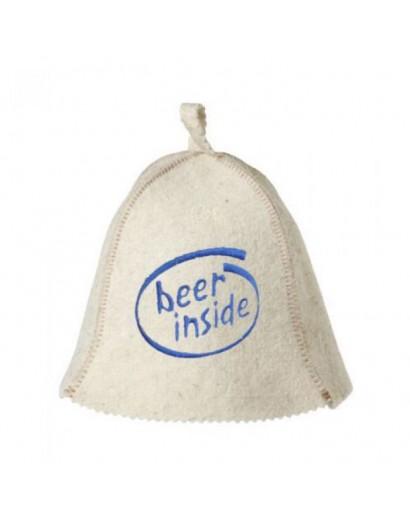 "Шапка ""Beer Inside"""