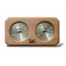 Термогигрометр ОЧКИ квадратные (сосна). kd-216
