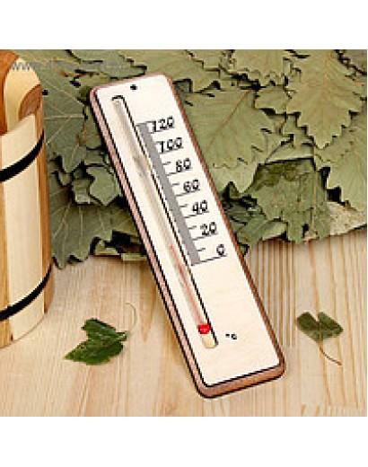 Термометр д/бани жидкостный, 200х42х18 мм