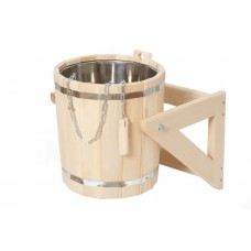 Обливное устройство с нержавеющей вставкой, 10 л (липа)