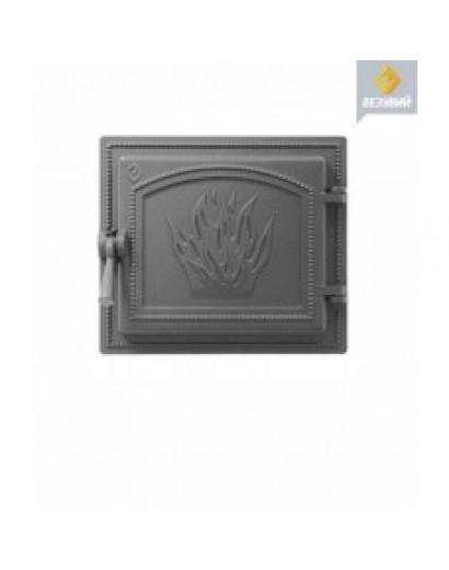 Дверка ВЕЗУВИЙ каминная 261 (Антрацит)