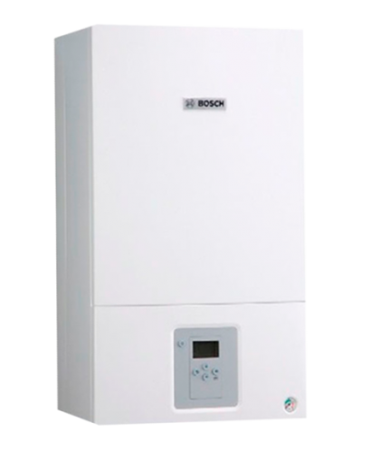 Газовый котел Bosch Gaz 6000 WBN 35 CRN. Двухконтурный, турбированный.