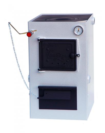 Твердотопливный котел cтальной отопительный котел Сибирь КВО 10 кВт