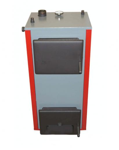 Твердотопливный котел Теплоприбор КС-Т 16 с регулятором тяги