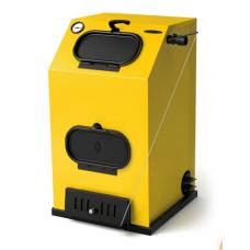 Твердотопливный котел ТMF Прагматик Автоматик, 30кВт, АРТ под ТЭН, желтый
