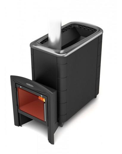Банная печь ТMF Тунгуска XXL 2013 Carbon Витра антрацит