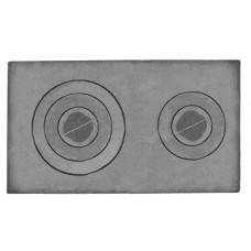 Плита двухконфорочная П-2-5