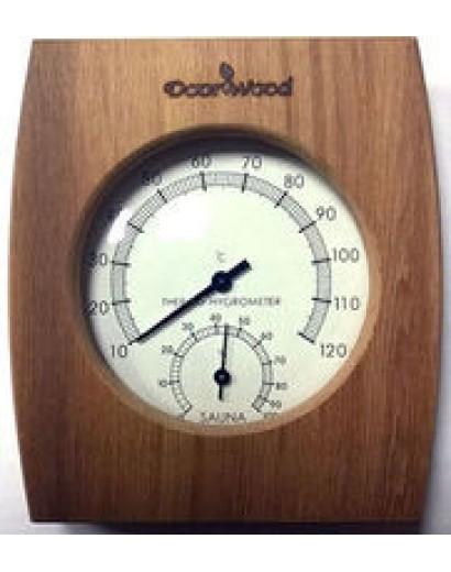 Термогигрометр (канадский кедр). kd-105